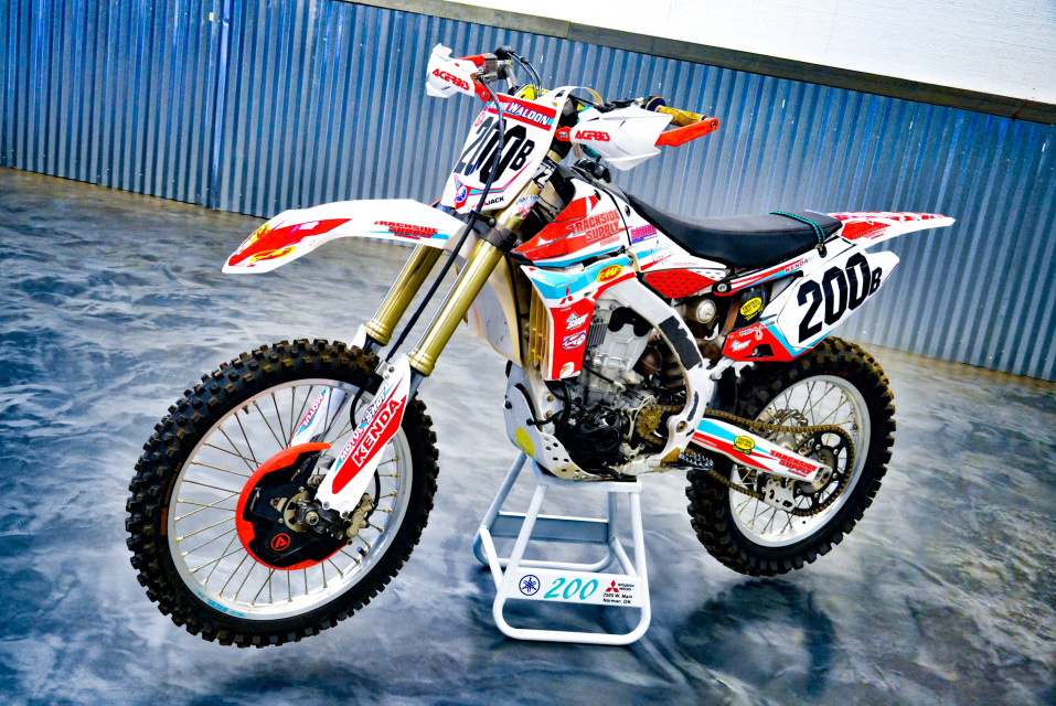 BRM Offroad - Timbersled Snow Bike Graphics