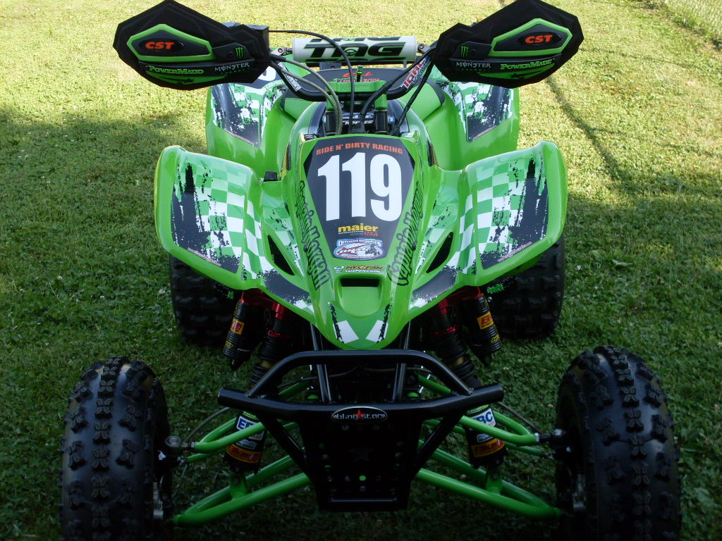Brm Offroad Graphics Kawasaki Kfx 400 Atv Graphics