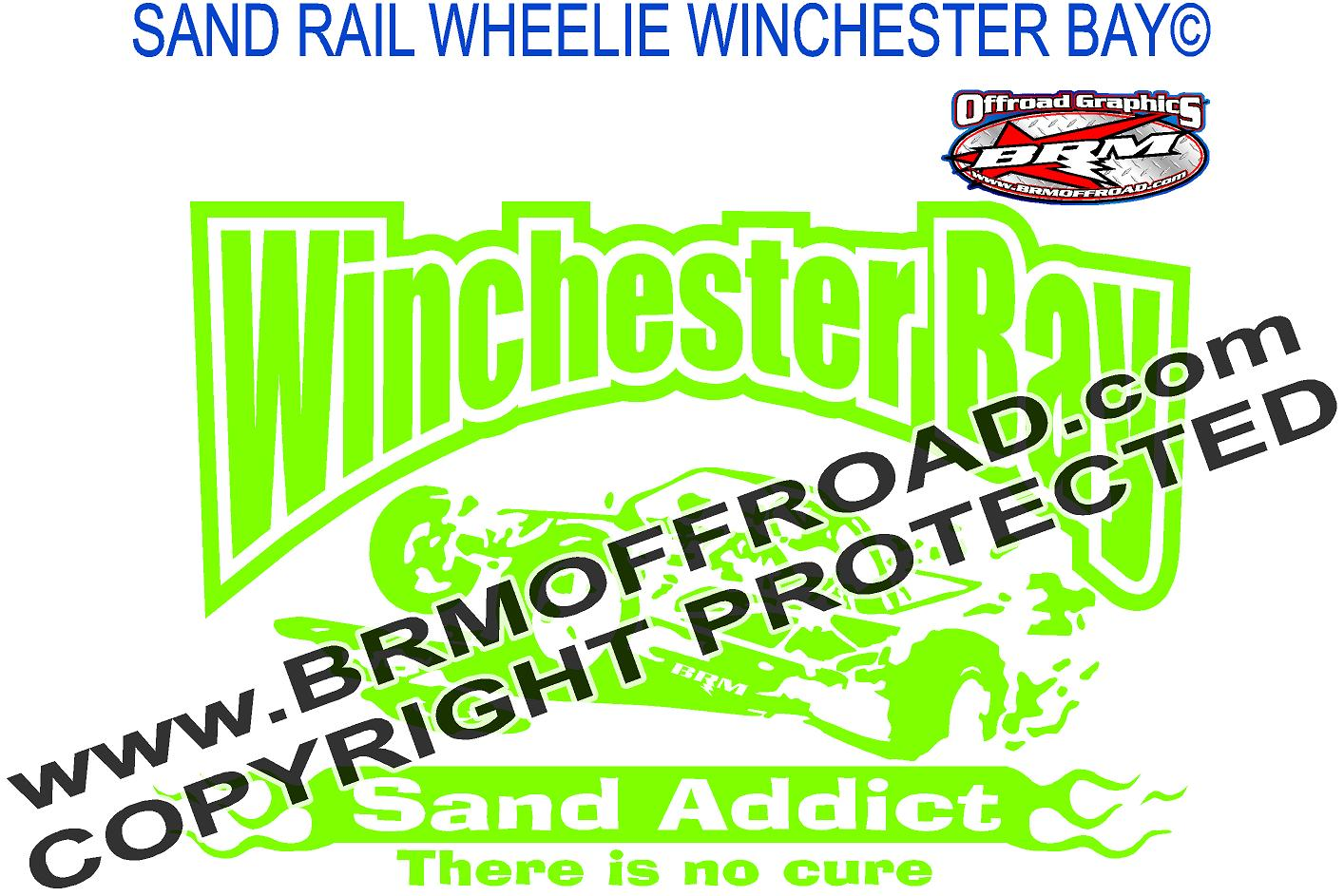 brm offroad graphics sand rail and dune decals and