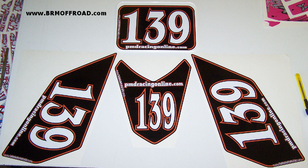 Brm Offroad Ktm 450 Or 525 Race Numbers
